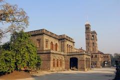 Universidade de Pune, construção principal, Pune foto de stock royalty free