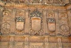 Universidade de Salamanca imagens de stock