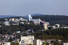 Universidade de Siegen, Alemanha Imagens de Stock