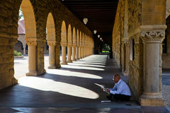 Universidade de Stanford Foto de Stock Royalty Free
