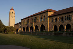 Universidade de Stanford - torre de Hoover Fotos de Stock