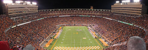 A universidade de Tennessee Neyland Stadium Fotografia de Stock Royalty Free