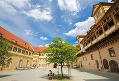 Universidade de Tubinga, Baden-Wurttemberg, Alemanha foto de stock royalty free