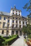 Universidade de Wroclaw Fotos de Stock Royalty Free