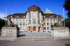 Universidade de Zurique Imagem de Stock Royalty Free