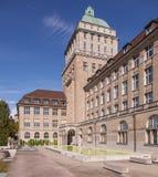 Universidade de Zurique Foto de Stock