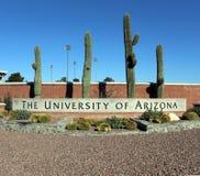 A Universidade do Arizona imagens de stock