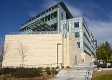 Universidade do edifício da tecnologia biológica de Washington Fotos de Stock Royalty Free