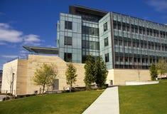 Universidade do edifício da tecnologia biológica de Washington fotografia de stock