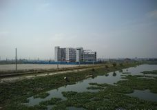 Universidade do mundo de Bangladesh Uttara imagens de stock