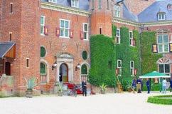 Universidade do negócio de Nyenrode do castelo, Países Baixos imagens de stock royalty free