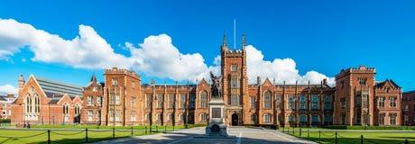 A universidade do ` s da rainha de Belfast Fotos de Stock