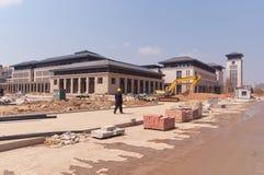 Universidade do terreno novo de Macau Imagem de Stock