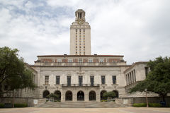 Universidade do Texas no terreno de Austin fotografia de stock