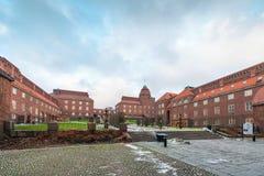 Universidade KTH em Éstocolmo fotografia de stock royalty free