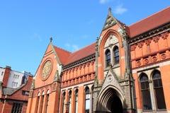 Universidade municipal de Birmingham imagens de stock