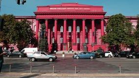 Universidade nacional de Taras Shevchenko de Kyiv video estoque