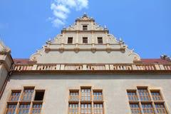 Universidade no Polônia imagens de stock
