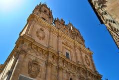 A universidade pontifical de Salamanca imagens de stock royalty free