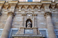 A universidade pontifical de Salamanca fotos de stock