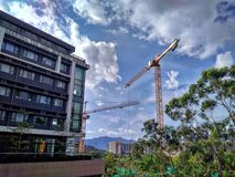 Università cinese di Hong Kong fotografia stock
