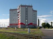 Università corporativa di ferrovie del Russo di JSC fotografie stock libere da diritti