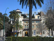 Università costruzione-Andalusia di Malaga--La Spagna immagini stock libere da diritti