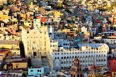 Università del ` s di Guanajuato fotografia stock