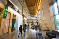 Università della costruzione dell'EMÙ di città universitaria dell'Oregon Immagini Stock Libere da Diritti