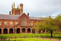 Università della regina di Belfast fotografia stock