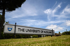 Università di Auckland immagini stock libere da diritti