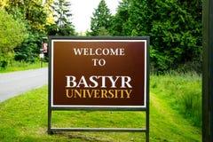 Università di Bastyr, arti naturali di salute e scienze fotografie stock