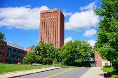 Università di biblioteca di Massachusetts Amherst Fotografie Stock