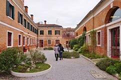 Università di Ca Foscari di Venezia (Universita Ca Foscari Venezia) Immagini Stock Libere da Diritti