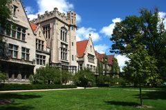 Università di Chicago Fotografia Stock Libera da Diritti