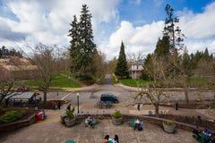 Università di città universitaria dell'Oregon Fotografia Stock
