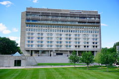 Università di città universitaria di Massachusetts Amherst Immagine Stock