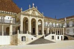 Università di Coimbra Fotografia Stock