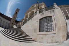 Università di Coimbra Fotografie Stock