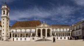 Università di Coimbra Potugal Fotografia Stock Libera da Diritti