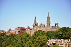 Università di Georgetown. fotografia stock libera da diritti