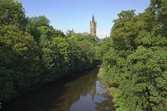 Università di Glasgow Fotografie Stock