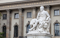 Università di Humboldt immagine stock libera da diritti