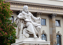 Università di Humboldt Immagini Stock Libere da Diritti