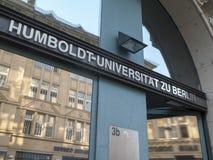 Università di Humboldt di Berlino fotografia stock