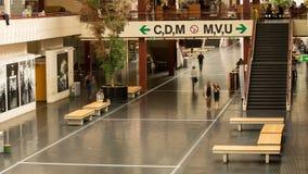 Università di lasso di tempo principale del corridoio di Bielefeld stock footage