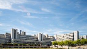 Università di lasso di tempo di Bielefeld stock footage