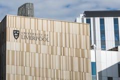 Università di Liverpool immagini stock libere da diritti