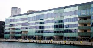 Università di Malmö, Svezia, Skane, Malmo, università moderna Fotografia Stock