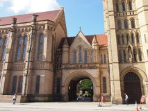 Università di Manchester, Inghilterra Fotografia Stock Libera da Diritti